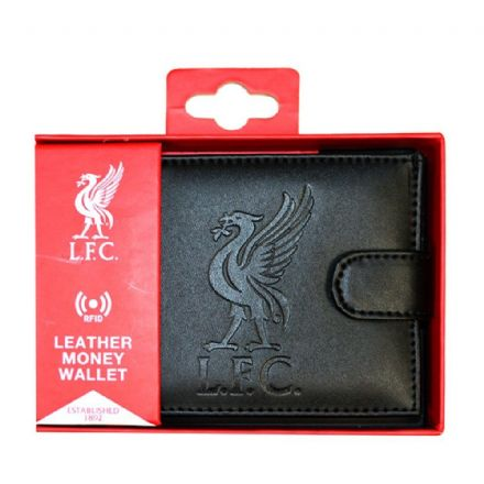 Liverpool RFID Embossed Leather Wallet